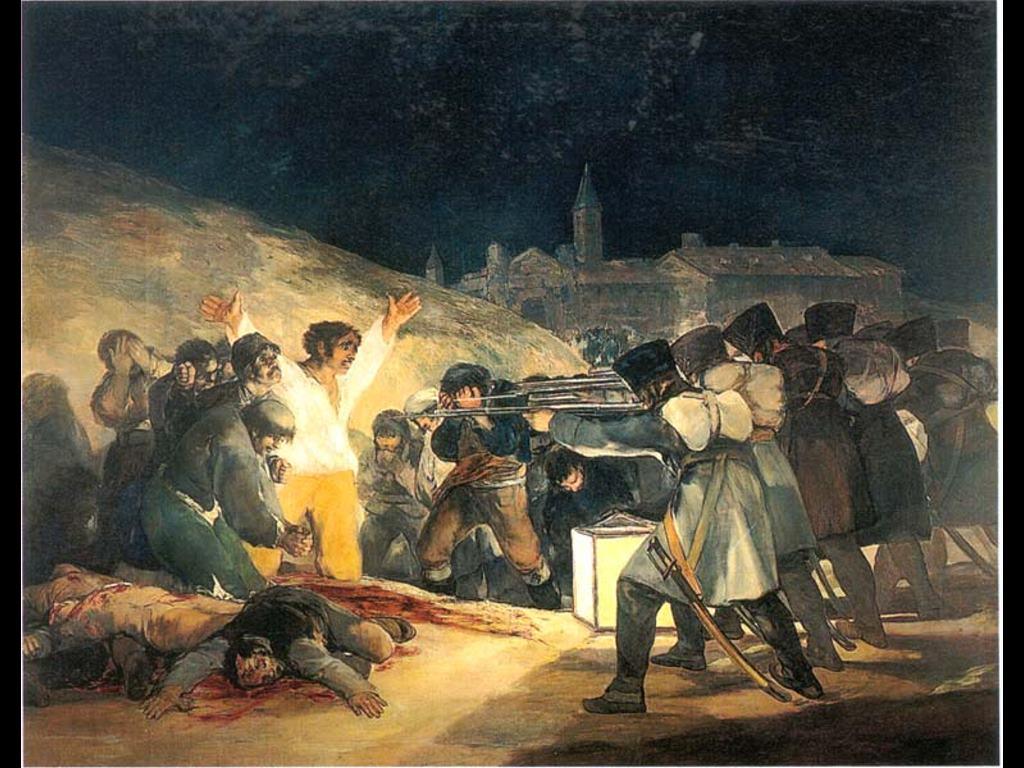 Goya - Fuzilamento de 3 de maio