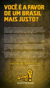 Anúncio censurado por O GLOBO!