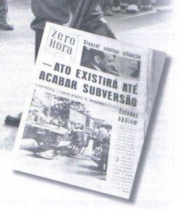 O jornal oficial da ditadura!