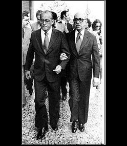 Roberto Marinho e o ditador Figueiredo