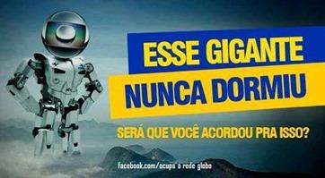 Globo acordada
