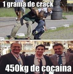 cocaina x crack