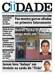 Jornal Cidade, de Uruguaiana, denuncia aumento da tarifa na primeira fatura após privatização.