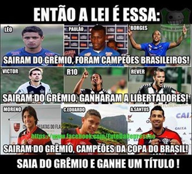 Gremio X Corinthians