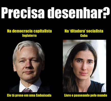 Yoani Sanchez e Juliana Assange