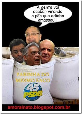 PSDB farinha do mesmo saco