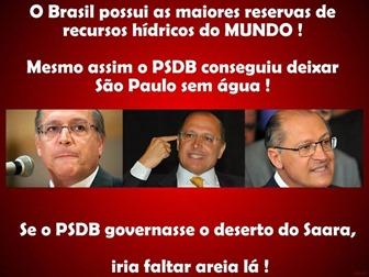 PSDB x Água