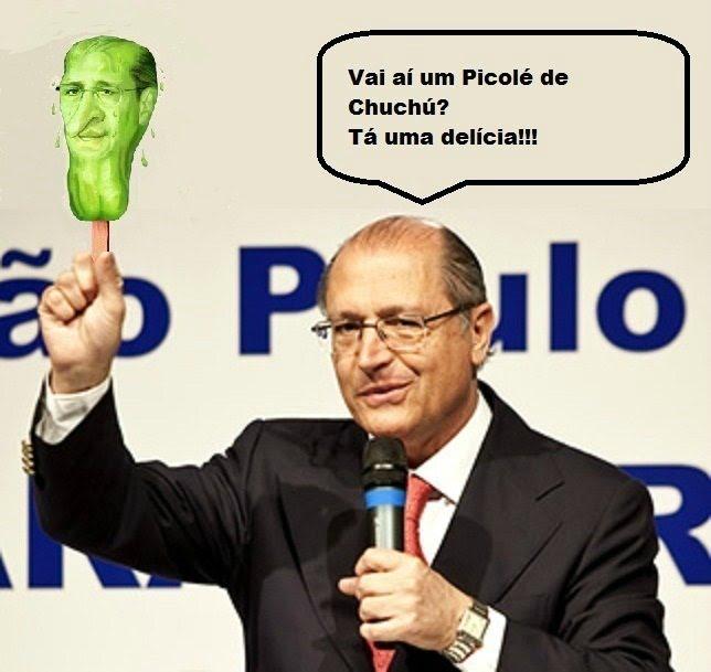 Resultado de imagem para geraldo alckmin picole de chuchu