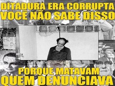 Ditadura e corrupcao