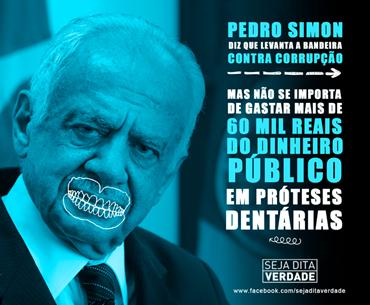 Pedro Simon boca de ouro
