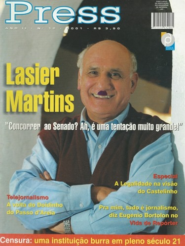 Lasier Martins Pressa