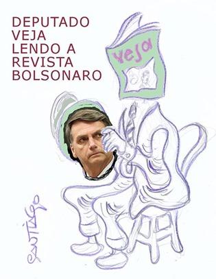Bolsonaro por Santiago
