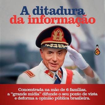 ditadura da informaçaõ