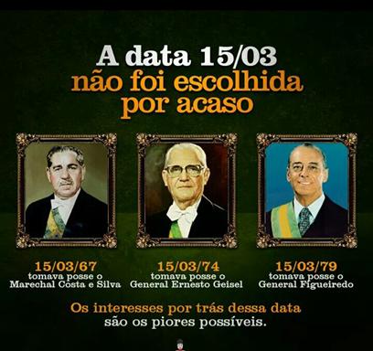 DITADURA DO 15.03