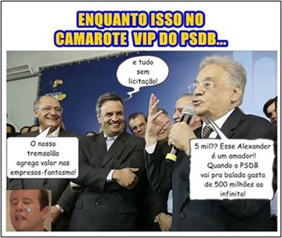 PSDB camarote