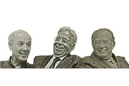 Arruda, FHC e Gilmar Mendes