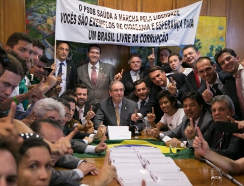 Eduardo Cunha, musa do MBL