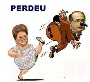Gilmar Mendes x Dilma