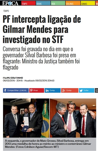Silval Barbosa & Gilmar Mendes