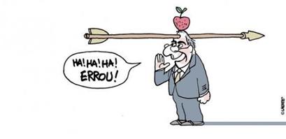 Eduardo Cunha flexado