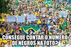 Manifestações - negros nao entram_