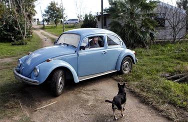 Mujica seu Fusca na Quinta