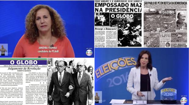 Rede Globo é o câncer da democracia