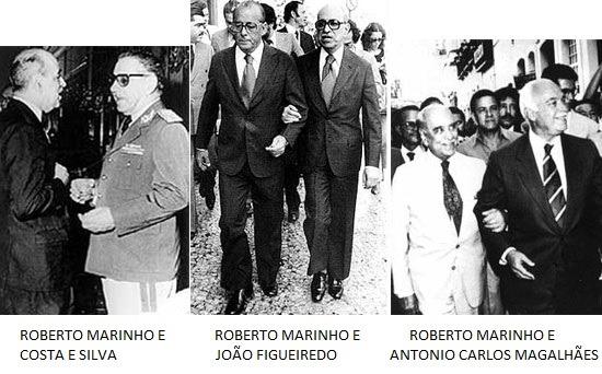 Image result for ACM durante a ditadura militar