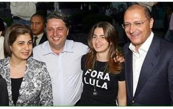 Garotinho Alckmin fora Lula