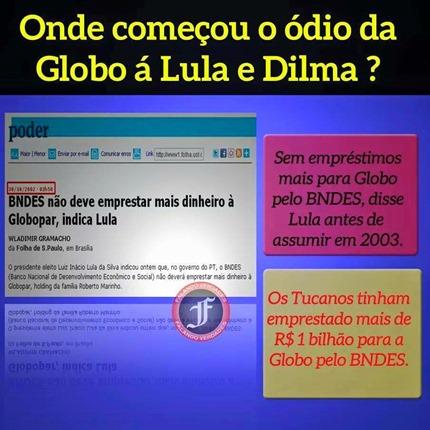 Rede Globo x Lula